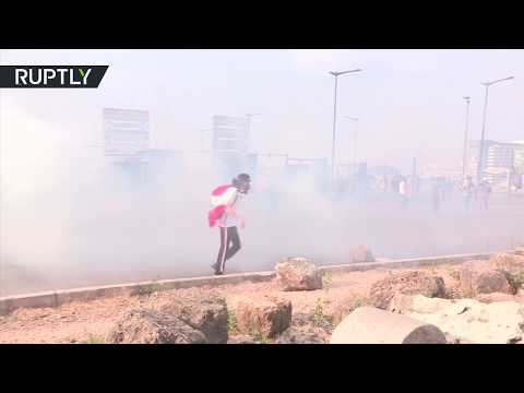 Anti-govt protest turns violent in Beirut