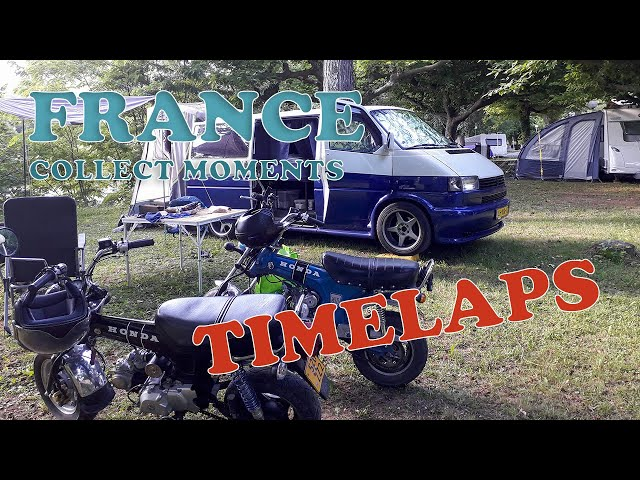 Roadtrip Frankrijk #5 Timelaps packing and unpacking campervan
