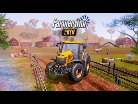 Vídeo do Farmer Sim 2018