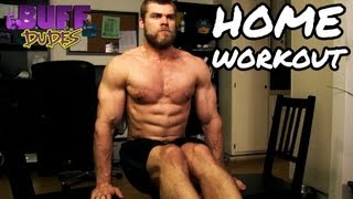 Home Workout Routine - Best Bodyweight Exercises by Buff Dudes