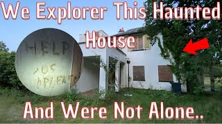 We Explore This Abandoned House And Realised We We're Not Alone!..