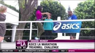 LA Marathon Treadmill Challenge & Marpop Cupcakes!