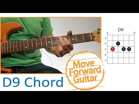 Guitar Chords - D9 - Part 1 (Finger Placement)
