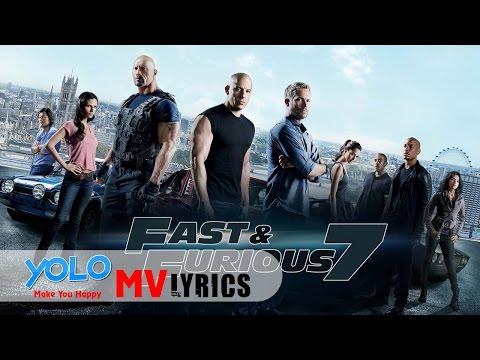 [Lyrics+Vietsub] See You Again || Wiz Khalifa ft. Charlie Puth (Fast and Furious 7) HD