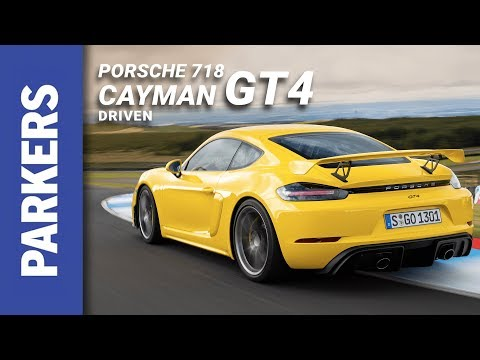 Porsche 718 Cayman Coupe Review Video