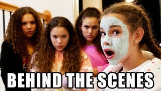 Haschak Sisters - Home Alone (Behind The Scenes)