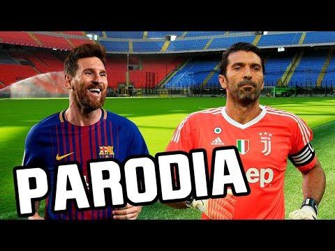 Canción Barcelona vs Juventus 3-0 (Parodia Nacho, Yandel, Bad Bunny - Báilame (Remix))