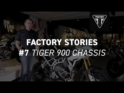 Triumph Factory Stories -Tiger 900 Chassis