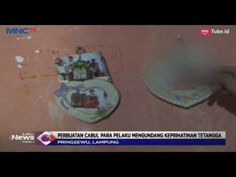 Bejat! Seorang Ayah di Lampung Cabuli Putri Kandung Bersama 2 Putranya -  LIM 22/02