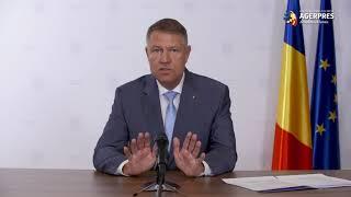 Preşedintele Iohannis - videoconferinţă cu premierul, ministrul Sănătăţii şi reprezentanţi locali privind situaţia epidemiologică de la Suceava