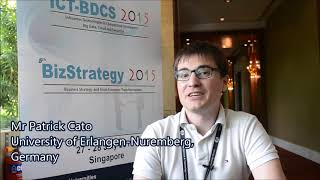 Mr. Patrick Cato at ICT-BDCS Conference 2015 by GSTF