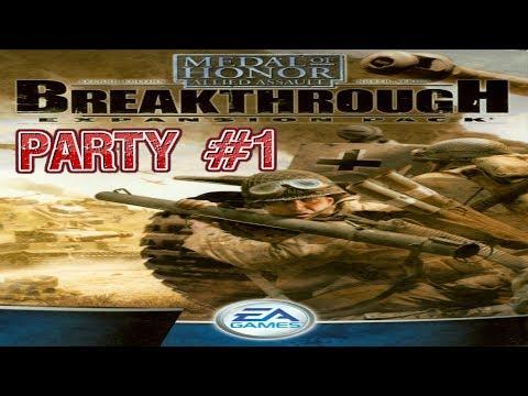 Medal of Honor: Allied Assault - Breakthrough walkthrough part #1 gameplay تختيم لعبة الحلقة الاولى