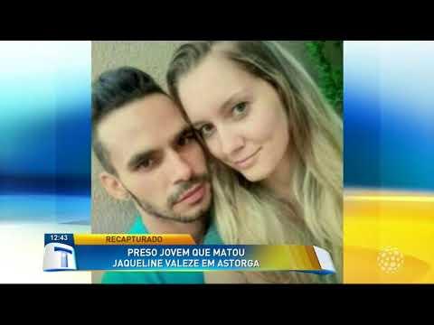 Preso jovem que matou Jaqueline Valeze em Astorga - Tribuna da Massa (19/02/18)
