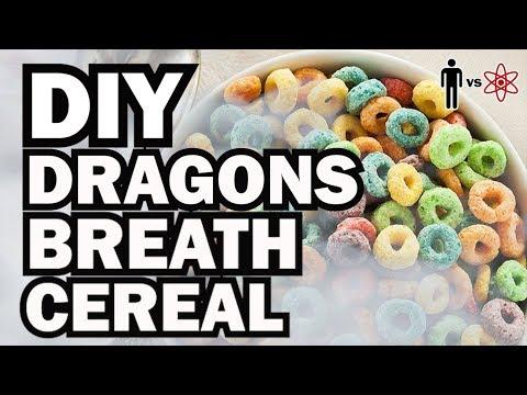 DIY Dragon's Breath Cereal - Man Vs Science
