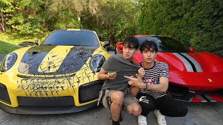 Twins Swap Cars for 24 Hours! (BAD IDEA)