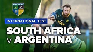 South Africa v Argentina | International Test Highlights