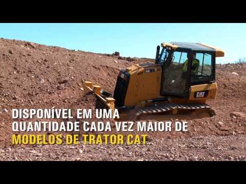 Cat® Slope Assist para Tratores Estudo de Produção