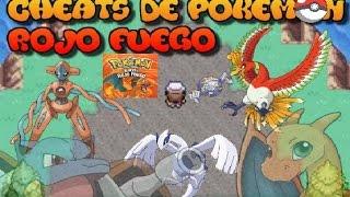 + DE 100 CHEATS De POKEMON Rojo Fuego Y Verde Hoja,(CHEATS EN LA DESCRIPCIÓN)