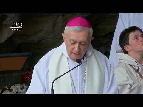 Chapelet du 12 juillet 2020 à Lourdes