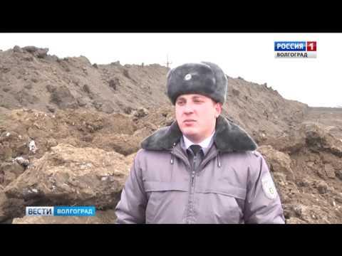 В Волгоградской области Россельхознадзор проверяет законность земляных работ на землях сельскохозяйственного назначения