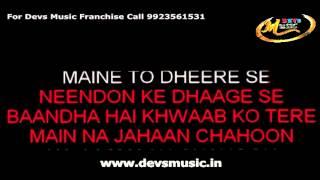 Main Rang Sharbaton Ka Karaoke Phata Poster Nikla Hero www.devsmusic.in Devs Music Academy