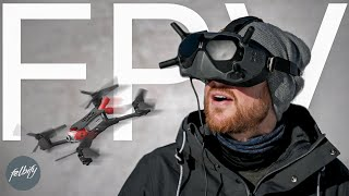 Learning how to FLY and CRASH a CINEMATIC FPV DRONE - learn fast