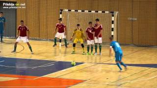 Prijateljska tekma futsal Slovenija - Madžarska U21