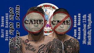 UFC Norfolk Care/Don