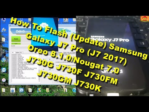 Update Samsung Galaxy J7 Pro SM-J730GM to Android 8 1 0 Oreo