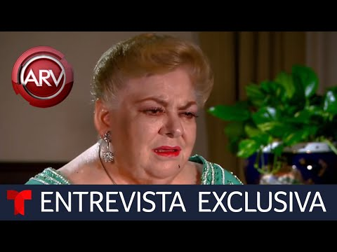 Paquita la del Barrio habla entre lágrimas sobre su trombosis pulmonar | Al Rojo Vivo | Telemundo