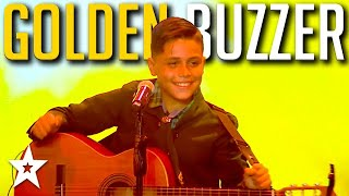 KID GUITARIST Gets GOLDEN BUZZER Got Talent Uruguay 2020 | Kids Got Talent
