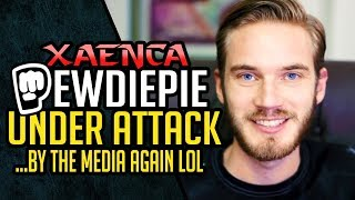 So Much PewdiePie HATE From The Verge Attack All Bcuz Of A Shoutout, AHHH The Outrage!!! | Xaenca