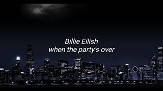 When The Party's Over  Billie Eilish  Po Polsku  Tłumaczenie  Polskie Napisy