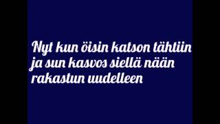 Apulanta - ilona (lyrics)