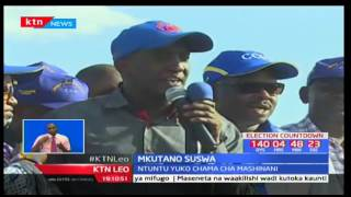 Patrick Ole Ntutu atangaza mwanzo wa kampeini zake za kumng'oa madarakani Gavana Samuel Tunai