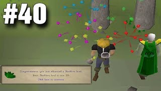 OSRS Ironman Episode 40 - Huge Gains, Closing in on Max!