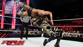 John Cena, Cody Rhodes & Goldust vs. Damien Sandow & The Real Americans: Raw, Nov. 4, 2013