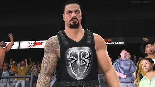 wwe-2k16-roman-reigns-and-dolph-ziggler-full-entrance-videos