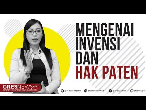 Hukum tentang Invensi dan Paten