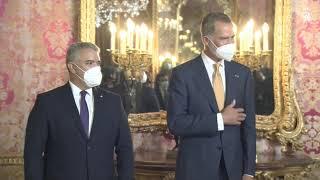 Almuerzo ofrecido en honor de Su Excelencia el Presidente de la República de Colombia, Iván Duque Márquez, con motivo de su Visita Oficial a España y