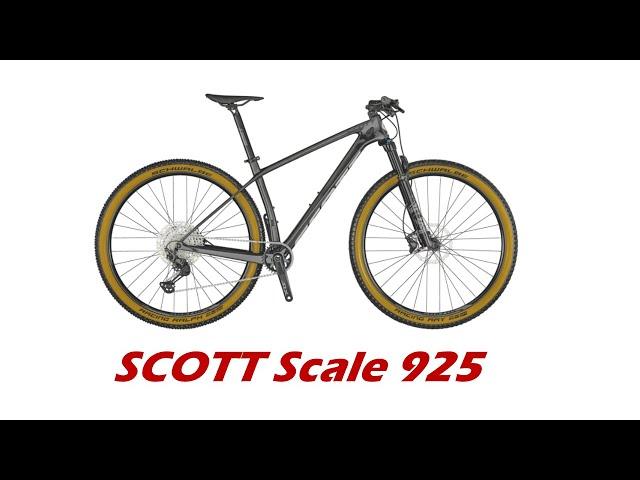 Видео Велосипед Scott Scale 925 Black