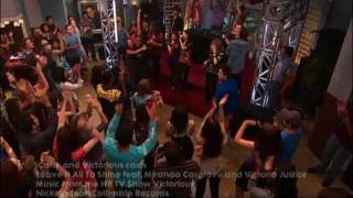 ICarly Cast & Victorious Casts - Leave It All To Shine