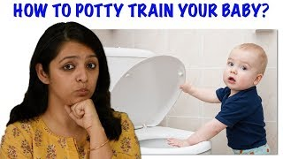 How To Potty Train Your Baby || MomCom's Tips On Potty Training