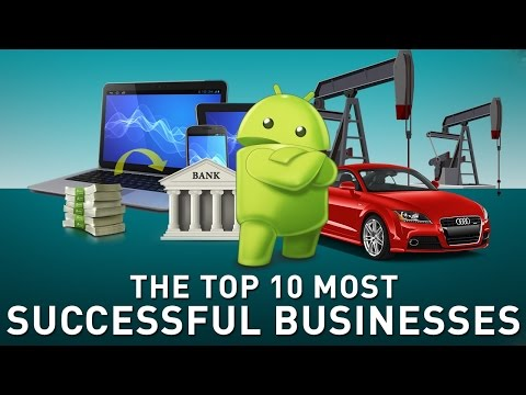 Top 10 Most Successful Businesses in the World