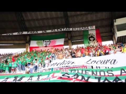 """""""Brigada 11. Aguante Locura y Pasión"""" Barra: Brigada 11 • Club: Once Caldas"""