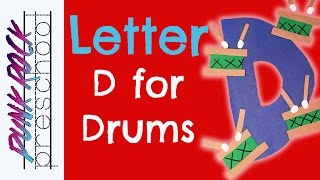 Letter D For Drums | Fun Preschool Crafts For Kids | Best Preschool Activities For Kids
