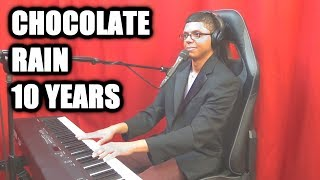 """CHOCOLATE RAIN"" Tenth Anniversary Acoustic - Original Song By Tay Zonday"