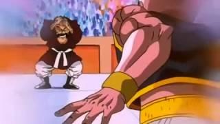 Mr. Satan  - (Dragon Ball) - Dragonball Gt majuub vs mr satan