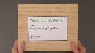 Thinking in Systems - Level 1 - Parts Working Together