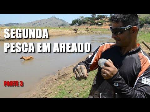 SEGUNDA PESCARIA EM AREADO MG. SALVANDO VIDAS - PARTE 03 Canal Saalada